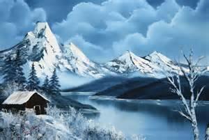 bob ross glacier